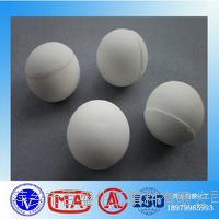 雷竞技下载官方版类似雷竞技磨耗低高效高铝瓷磨料圆球 30-60MM