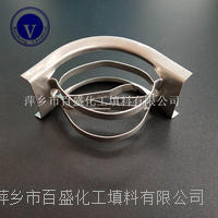 萍鄉百盛真空精餾塔金屬散堆矩鞍環填料