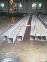 泰州AG開戶矩形鋼管廠生產無磁、力學性能標準的不鏽鋼無縫方管 100*150*6