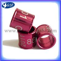 2012 new hot hot hot sale aluminium pigeon rings pigeon bands pets bands GSF-ABR