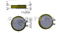 -40℃~80℃宽温电池CR2450激光焊接 600mAh
