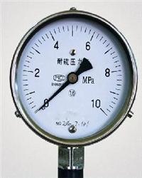 YTU-100S、YTU-150S 耐硫壓力表 YTU-100S、YTU-150S