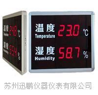 大屏流量显示器/温湿度显示看板(迅鹏)WP-LD-TH WP-LD-TH