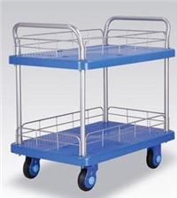 Double Silent Trolley with Double Guardrail and Double Armrest PLA300-T2-HL2-D