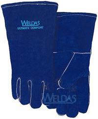 WELDAS威特仕 彩蓝色斜拇指款焊接手套