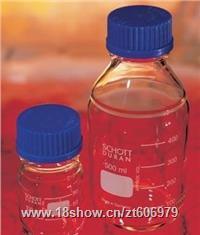 德國肖特Schott Duran 藍蓋試劑瓶21801545 透明玻璃瓶1000ml 21801545