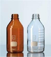 德國Schott Duran 棕色藍蓋試劑瓶21806175 肖特藍蓋瓶50ML(含蓋)