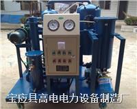 双极真空滤油机 DZJ