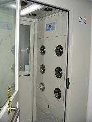 鋼板靜電噴塑烤漆風淋室,不鏽鋼風淋室, ASS-1D-1400