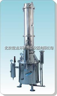 TZ200不銹鋼塔式蒸汽重蒸餾水器 TZ200