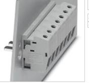 全新菲尼克斯的穿墙端子连接方式 HDFK 10-VP - 0709110