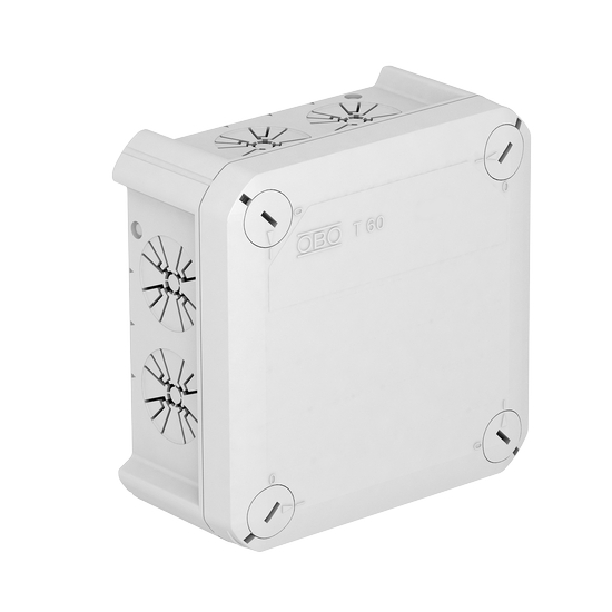 Junction box T 60 ZE, strain relief entry