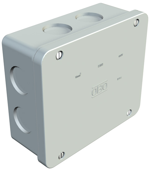 Junction box, B 160 M, without thread