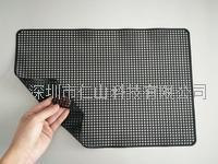 黑色硅膠防滑墊、黑色無痕防滑墊、深圳無痕硅膠防靜電防滑墊