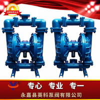 流體襯氟氣動隔膜泵特氟龍氣動隔膜泵強酸強堿輸送泵