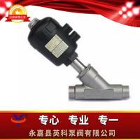 焊接式氣動角座閥 Y661W