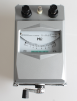 ZC11D系列绝缘电阻表说明书