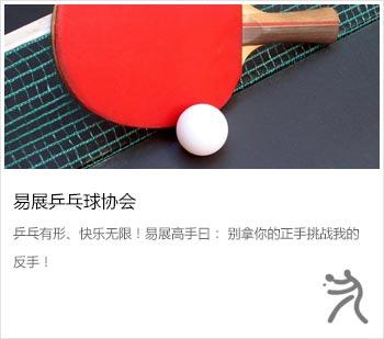 易展乒乓球協會