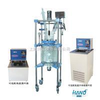 上海实验用双层玻璃反应釜 10L-50L