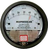 TEA-8000pa (D2000-8000pa)指针差压表/微压差表 /空气差压计/压差计/风压仪 TEA-8000pa (D2000-8000pa)