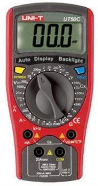 UT50C通用型数字万用表 UT50C