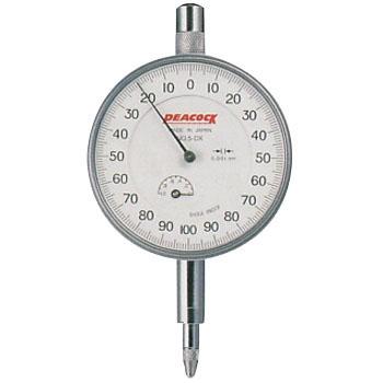 尾崎PEACOCK 5-DX 标准拨号表(0.00mm·0.005mm) PEACOCK 5 DX 0 00mm middot 0 005mm