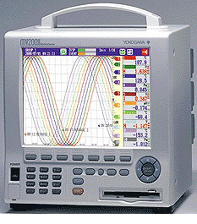 横河 YOKOGAWA 便携式记录仪 MV210 YOKOGAWA MV210