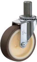HAMMER CASTER 精密脚轮  插入轮毂型420EK-UR 40-125mm 25-60daN HAMMER CASTER 420EK UR 40 125mm 25 60daN