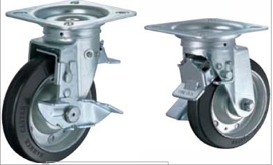HAMMER CASTER 精密脚轮  方向控制型419FOS-R 100-150mm 带整体锁120-220daN HAMMER CASTER 419FOS R 100 150mm 120 220daN