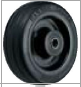 HAMMER CASTER 精密脚轮  金属板型434SOS RBU 100-150mm橡胶车轮50-220daN HAMMER CASTER 434SOS RBU 100 150mm 50 220daN
