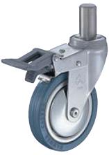 HAMMER CASTER 精密脚轮  插入轮毂型915EK-PR 70-125mm带整体锁 25-60daN HAMMER CASTER 915EK PR 70 125mm 25 60daN