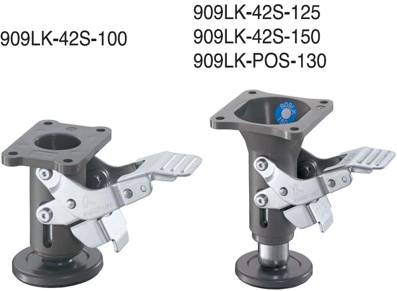 HAMMER CASTER 脚轮锁909LK-42S-125 HAMMER CASTER 909LK 42S 125