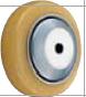 HAMMER CASTER 精密脚轮   金属板型423S URB 125,150mm尿烷车轮140-220daN HAMMER CASTER 423S URB 125 150mm 140 220daN