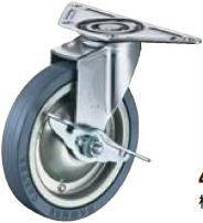 HAMMER CASTER 精密脚轮   角金属板型215E-PR 65,75,100-150mm带止动器20-60daN HAMMER CASTER 215E PR 65 75 100 150mm 20 60daN