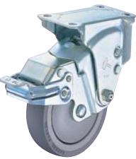 HAMMER CASTER 精密脚轮  尿烷缓冲脚轮935ER-BLB 100mm带滚柱轴承 止动器 HAMMER CASTER 935ER BLB 100mm