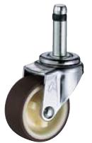 HAMMER CASTER 精密脚轮  轻荷重插口脚轮420K-UR 40-100mm 15-50daN HAMMER CASTER 420K UR 40 100mm 15 50daN