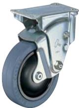HAMMER CASTER 精密脚轮  橡胶缓冲脚轮940ER-FR 100mm带滚柱轴承 HAMMER CASTER 940ER FR 100mm
