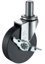 HAMMER CASTER 精密脚轮   插入轮毂型415EK-MC 40-75,100-150mm带止动器25-60daN HAMMER CASTER 415EK MC 40 75 100 150mm 25 60daN