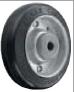 HAMMER CASTER 精密脚轮  金属板型425S R 100-150mm橡胶车胎60-220daN HAMMER CASTER 425S R 100 150mm 60 220daN