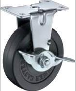 HAMMER CASTER 精密脚轮  金属板型415E-R  40-75mm 8-50daN 带止动器 HAMMER CASTER 415E R 40 75mm 8 50daN