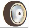 HAMMER CASTER 精密脚轮  方向控制型439S UB 100-200mm尿烷车轮120-220daN HAMMER CASTER 439S UB 100 200mm 120 220daN