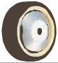 HAMMER CASTER 精密脚轮  金属板型439S UB 100-150.200mm尿烷车胎60-220daN HAMMER CASTER 439S UB 100 150 200mm 60 220daN