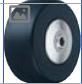 HAMMER CASTER 精密脚轮   金属板型599S MCB  125,150mm尼龙车轮240-300daN