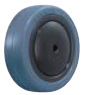 HAMMER CASTER 精密脚轮   螺纹旋入型434E FR 100,125mm橡胶车胎 25-60daN