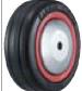 HAMMER CASTER 精密脚轮  金属板型434MB RB  75-125mm橡胶车胎50-100daN