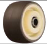 HAMMER CASTER 精密脚轮   金属板型439S UB  50,75mm尿烷车胎50-60daN