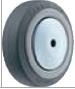 HAMMER CASTER 精密脚轮  金属板型434MB KUB 75-125mm尿烷车胎50-100daN