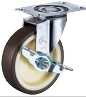 HAMMER CASTER 精密脚轮  金属板型415E-UR  85-125mm 50-100daN