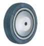 HAMMER CASTER 精密脚轮   螺纹旋入型430E PR 100,125mm冲压轮胎车 25-60daN
