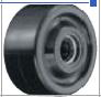 HAMMER CASTER 精密脚轮   金属板型559P BN2 38,50mm尼龙车胎120-600daN